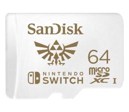 Karta pamięci microSD SanDisk 64GB microSDXC 100MB/s A1 V30 Nintendo Switch