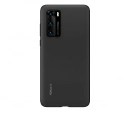 Etui / obudowa na smartfona Huawei Plecki silikonowe do Huawei P40 czarne