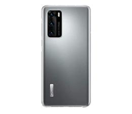 Etui / obudowa na smartfona Huawei Plecki silikonowe Huawei do P40 przezroczyste