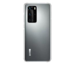 Etui / obudowa na smartfona Huawei Plecki silikonowe Huawei P40 Pro przezroczyste