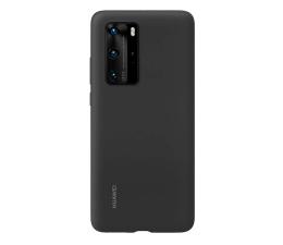 Etui / obudowa na smartfona Huawei Plecki silikonowe Huawei do P40 Pro czarne