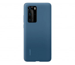 Etui / obudowa na smartfona Huawei Plecki silikonowe do Huawei P40 Pro jasno nieb.
