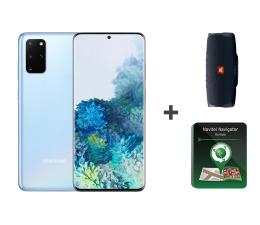 Smartfon / Telefon Samsung Galaxy S20+ Cloud Blue + JBL Charge 4 + Navitel