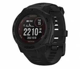 Zegarek sportowy Garmin Instinct Tactical Solar czarny