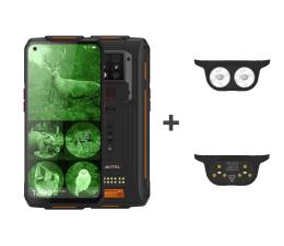 Smartfon / Telefon OUKITEL WP7 8/128GB pomarańczowy + latarka + lampa UVC