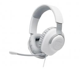 Słuchawki przewodowe JBL Quantum 100 Białe