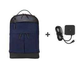"""Plecak na laptopa Targus Newport Backpack 15"""" Navy + ładowarka USB-C"""