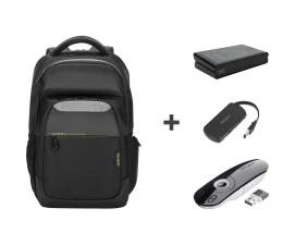 """Plecak na laptopa Targus City Gear 15.6""""+stacja dokująca+hub+prezenter"""