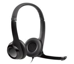 Słuchawki przewodowe Logitech H390 Headset czarne z mikrofonem