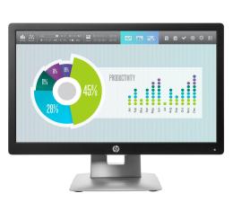"Monitor LED 21"" i mniejszy HP EliteDisplay E202"