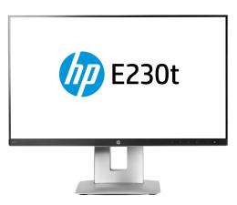 "Monitor LED 22"" HP EliteDisplay E230t dotykowy"
