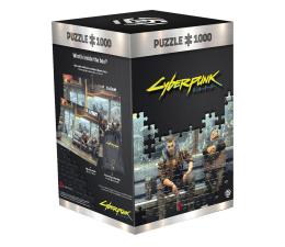 Puzzle z gier CENEGA Cyberpunk 2077: Metro puzzles 1000
