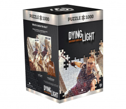 Gadżet/figurka z gry CENEGA Dying light 1: Crane's fight puzzles 1000
