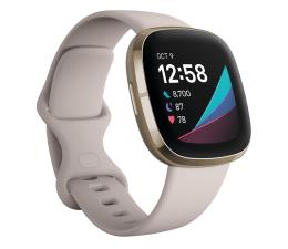 Smartwatch Fitbit Sense złoto beżowy + Fitbit Premium