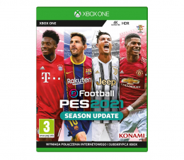 Gra na Xbox One Xbox eFootball PES2021 : Season Update