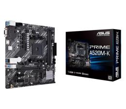 Płyta główna Socket AM4 ASUS PRIME A520M-K