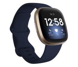 Smartwatch Fitbit Versa 3 złoto niebieska + Fitbit Premium