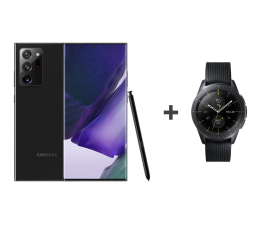 Smartfon / Telefon Samsung Galaxy Note 20 Ultra 5G Czarny + Galaxy Watch R810