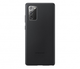 Etui / obudowa na smartfona Samsung Leather Cover do Galaxy Note 20 Black
