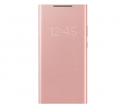 Etui / obudowa na smartfona Samsung LED View cover Galaxy Note 20 ultra Copper Brown
