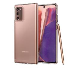 Etui / obudowa na smartfona Spigen Ultra Hybrid do Galaxy Note 20 Crystal Clear