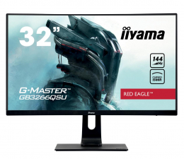 "Monitor LED 32"" i większy iiyama G-Master GB3266QSU Red Eagle Curved"