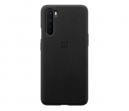 Etui / obudowa na smartfona OnePlus Sandstone Bumper Case do OnePlus Nord czarny