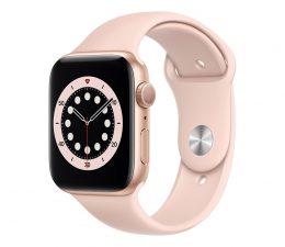 Smartwatch Apple Watch 6 44/Gold Aluminium/Pink Sport GPS