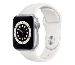 Smartwatch Apple Watch 6 40/Silver Aluminium/White Sport GPS
