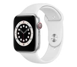 Smartwatch LTE Apple Watch 6 44/Silver Aluminium/White Sport LTE
