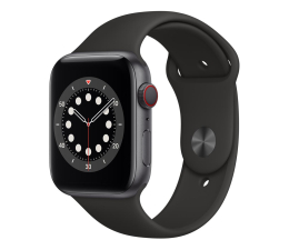 Smartwatch LTE Apple Watch 6 44/Space Gray Aluminium/Black Sport LTE