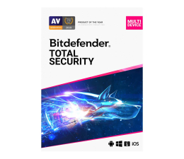 Program antywirusowy Bitdefender Total Security 2020 5st. (12m.) ESD