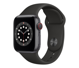 Smartwatch LTE Apple Watch 6 40/Space Gray Aluminium/Black Sport LTE