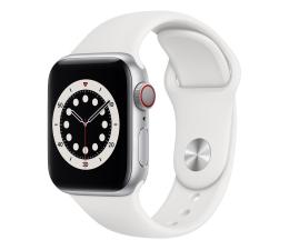 Smartwatch LTE Apple Watch 6 40/Silver Aluminium/White Sport LTE