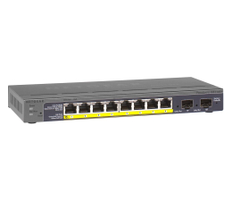 Switch Netgear 10p GS110TP (8x10/100/1000Mbit 2xSFP PoE)