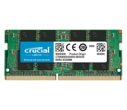 Pamięć RAM SODIMM DDR4 Crucial 8GB (1x8GB) 3200MHz