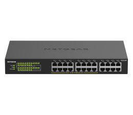 Switch Netgear 24p GS324P (24x10/100/1000Mbit, 16xPoE+)