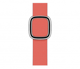 Pasek / bransoletka Apple Pasek skórzany z klamrą do Apple Watch cytrus