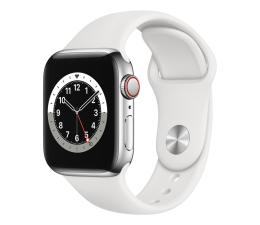 Smartwatch LTE Apple Watch 6 40/Silver Steel/White Sport LTE
