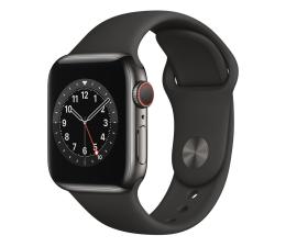 Smartwatch LTE Apple Watch 6 40/Graphite Steel/Black Sport LTE