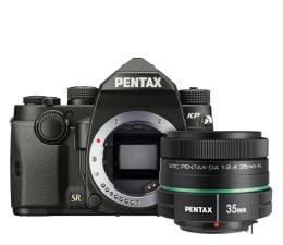 Lustrzanka Pentax KP czarny + DA 35mm F2.4
