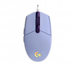 Myszka przewodowa Logitech G102 LIGHTSYNC lilac