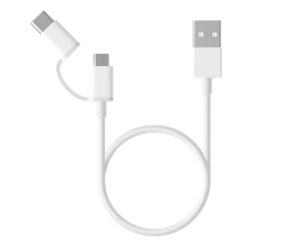 Kabel USB Xiaomi Mi 2-in-1 USB Cable (Micro USB to Type C) 100cm