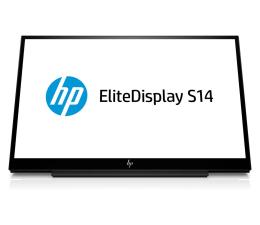 """Monitor LED 21"""" i mniejszy HP EliteDisplay S14 przenośny"""