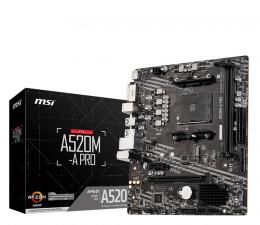 Płyta główna Socket AM4 MSI A520M-A PRO