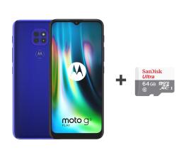 Smartfon / Telefon Motorola Moto G9 Play 4/64GB Sapphire Blue + 64GB