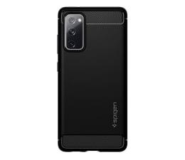 Etui / obudowa na smartfona Spigen Rugged Armor do Galaxy S20 FE Fan Edition czarny