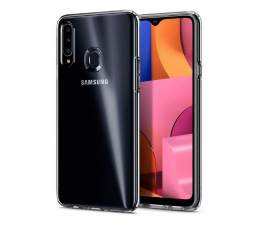 Etui / obudowa na smartfona Spigen Liquid Crystal do Samsung Galaxy A20s Clear