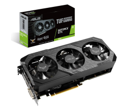 Karta graficzna NVIDIA ASUS GeForce GTX 1660 TUF Gaming X3 Advanced 6GB GDDR5