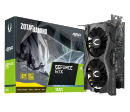 Karta graficzna NVIDIA Zotac GeForce GTX 1650 Gaming AMP CORE GDDR6 4GB